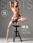Ira white lingerie