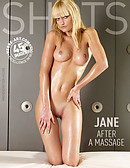 Jane after massage