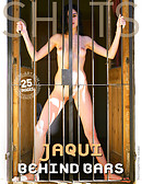 Jaqui behind bars