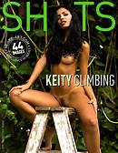Keity climbing