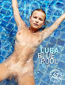 Luba blue pool