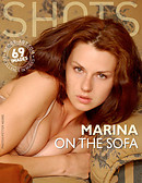 Marina on the sofa