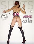 Marlene pink corset