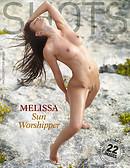 Melissa sun worshiper
