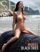 Muriel black tires