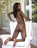 Naomi white chair