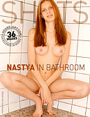 Nastya in bathroom part 1