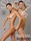 Polya and Yulia bodybuilding