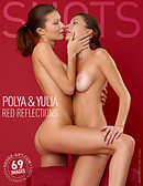 Polya And Yulia red reflections