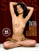Tacha white leather