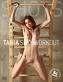 Tania sexy workout