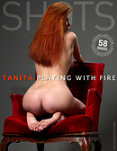 Tanita playing with fire