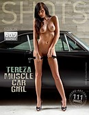 Tereza muscle car girl