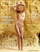 Thea golden sand