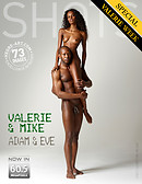 Valerie and Mike Adam and Eve