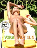 Vika hot sun