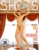 Vika in presidential suite