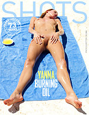 Yanna burning oil