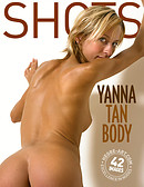Yanna cuerpo bronceado