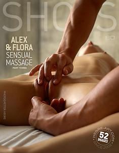 Alex y Flora masaje sensual parte 3