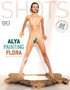 Alya maquille Flora