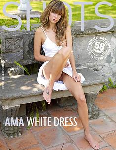 Ama white dress