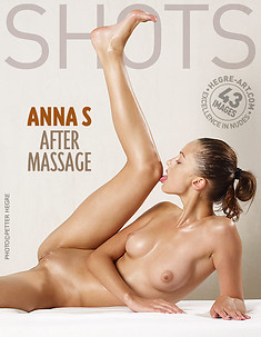 Anna S after massage