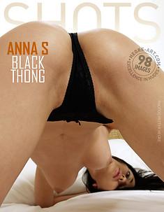 Anna S schwarzer Tanga