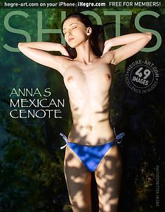Anna S cénote du Mexique
