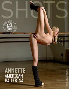 Annette bailarina americana