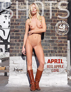 April Big Apple girl