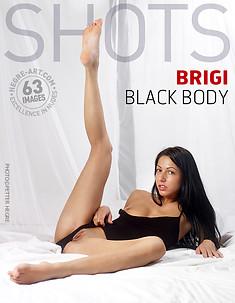 Brigi schwarzer Body