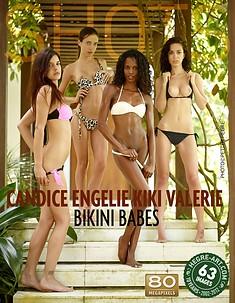 Candice Engelie Kiki Valérie les poules du bikini