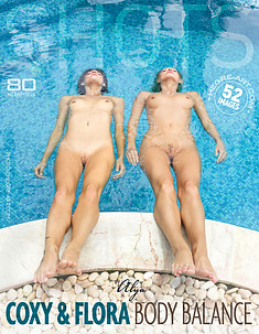 Coxy and Flora body balance by Alya