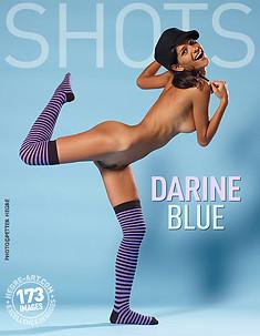 Darine bleu