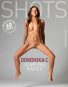 Dominika C jumping naked
