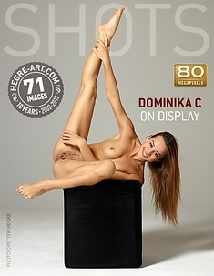 Dominika C on display