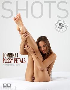 Dominika C pussy petals