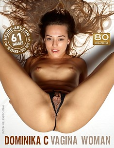 Dominika C vagina woman