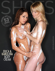Erica and Karolina body cream