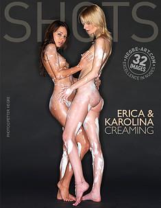 Erica et Karolina crème