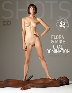 Flora et Mike domination orale