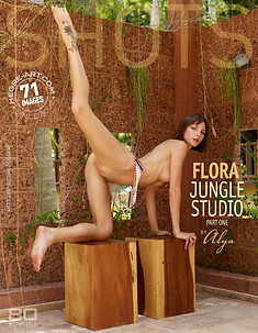 Flora jungle studio par Alya partie 1