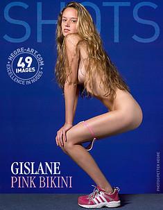 Gislane rosa Bikini