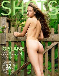 Gislane wooden gate