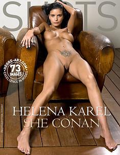 Helena Karel mujer Conan