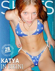 Katya im Bikini