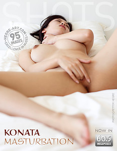 Konata masturbación
