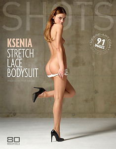 Ksenia stretch lace bodysuit