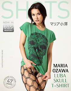 Maria Ozawa Luba t-shirt squelette